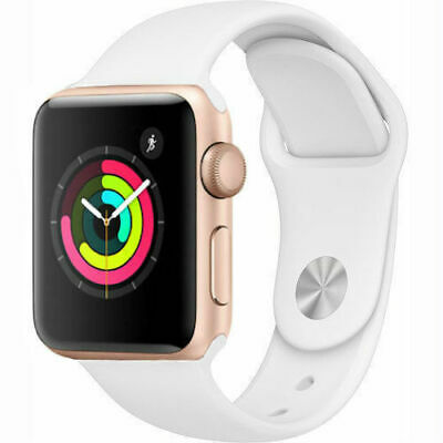 $ CDN164.74 • Buy Apple Watch Series 1 42mm Gold Case - White Sport Band