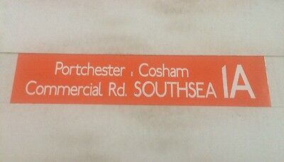 £18 • Buy Portsmouth Area Bus Blind 36  1a Portchester Cosham Commercial Road Southsea
