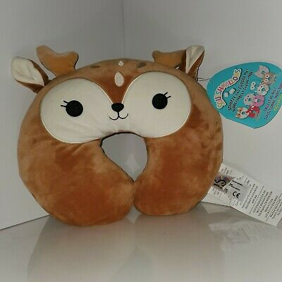 $ CDN72.80 • Buy Squishmallows Dawn The Fawn Neck Pillow NWT HTF RARE Exclusive By Kellytoy