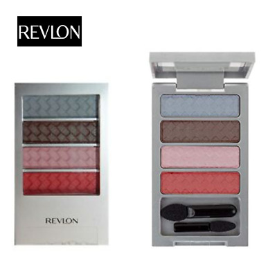 Revlon Colorstay Eyeshadow Quad Palette 12 HOUR  Summer Suedes New & Sealed • 2.45£