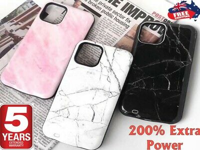 AU39.95 • Buy Battery External Power Charger Case Charging Cover For IPhone 11 Pro Max 6 7 8 X