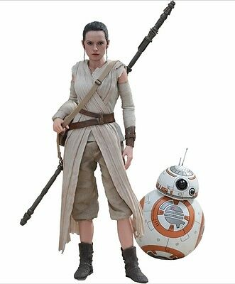 $ CDN544.43 • Buy Star Wars Ep. Vii Daisy Ridley Rey & Bb-8 2-pack 1/6 Action Figure 12   Hot Toys