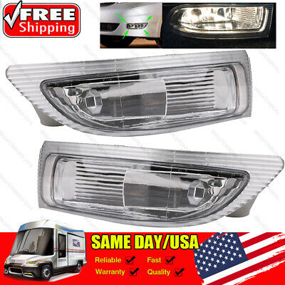 $39.25 • Buy 2X Front Fog Driving Lamp Light Left+ Right  W/Bulbs For Toyota Sienna 2004 2005