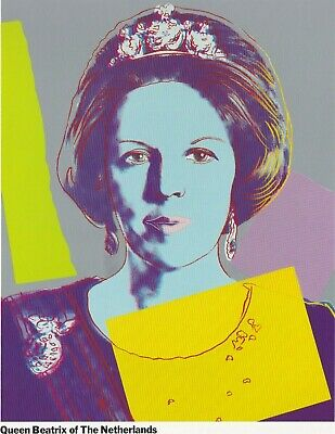 $400 • Buy Andy Warhol Reigning Queens Exhibition Catalogue Limited Edition 1985 Scarce