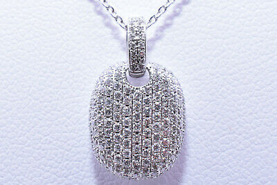 $795 • Buy Diamond Necklace With 200 Diamonds In 18K White Gold