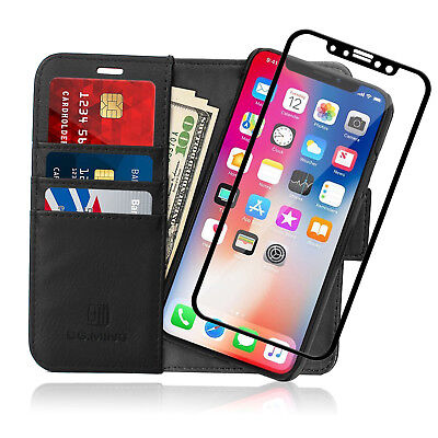 AU26.99 • Buy Multi-Card-Slot Ultra Durable Protective Leather Case For IPhone X / 7 / 8 Plus