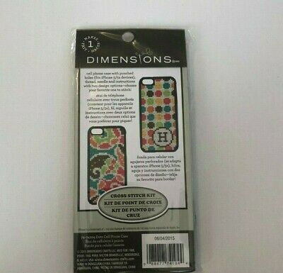 £3.93 • Buy Dimensions Cross Stitch IPhone Case Kit  IPhone 5 5s
