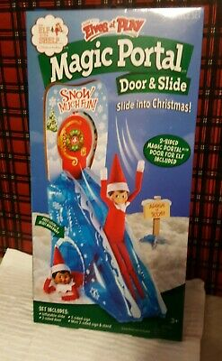 AU23.42 • Buy New! Elf On The Shelf ~ Scout Elves At Play ~ Magic Portal ~ Door & Slide Props