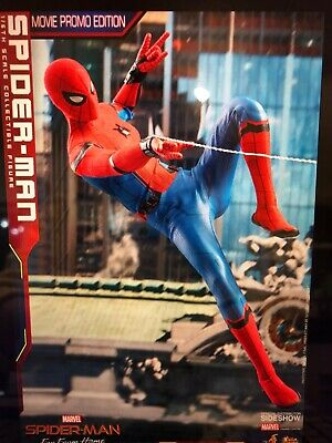 $300 • Buy Hot Toys MMS535 1/6 Spider-Man Figure Far From Home Movie Promo Edition