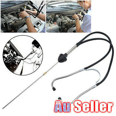 AU11.95 • Buy Dual Tube Car Engine Sound Diagnostic Tool Mechanic's Stethoscope Automotive