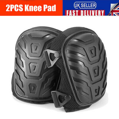 Professional Gel Filled Pro Knee Pads Protectors Safety Protection Work Trade UK • 10.99£