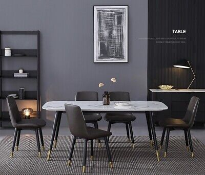 AU699 • Buy Rectangle Marble Dining Table 1.4M