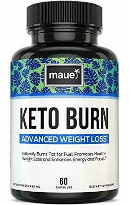 $9.99 • Buy Maue Keto Burn Advanced Weight Loss Fat Burner Supplements For Women And Men