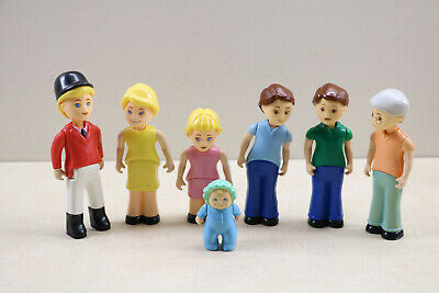 $56.99 • Buy Little Tikes Loving Family  Doll House Figure Lot Mom Dad Baby Kids Equestrian