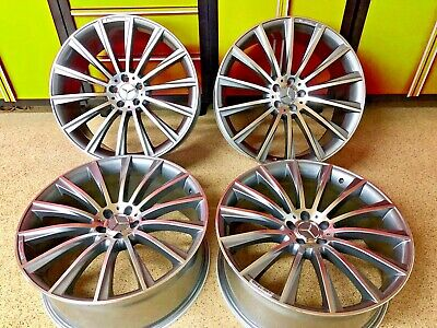 $995 • Buy Mercedes 19 Inch S550 Wheels Rims Set4 New Fits S63 S450 S400 S550 S560 S Amg