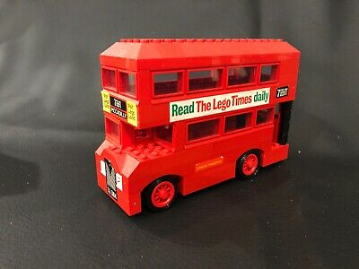 $ CDN95 • Buy Vintage Lego Double Decker Bus 384 Complete With Box And Instructions