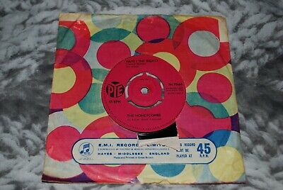 The Honeycombs - Have I The Right 7  Vinyl Record 45rpm 1964 (VG) • 4£