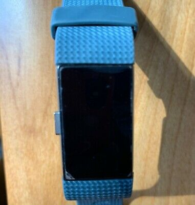 $ CDN39.13 • Buy Fitbit FB407SBUS Charge 2 Heart Rate Fitness Wristband - Blue SMALL