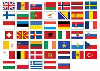 £4.95 • Buy World Flags 5ft X 3ft National Country Flag Sport Rugby Football World Cup Decor