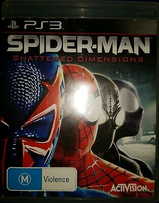 AU44.99 • Buy Spider-Man Shattered Dimensions PS3 Playstation