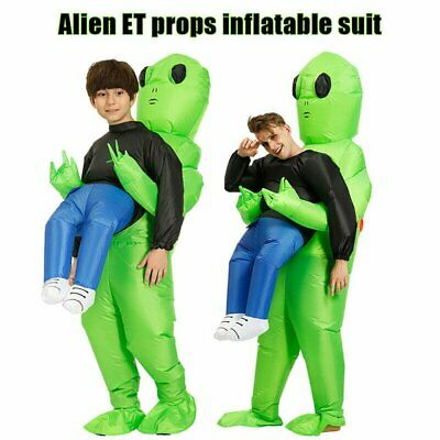 $26.59 • Buy ET Alien Inflatable Clothing Child Adult Halloween Funny Cosplay Clothes *
