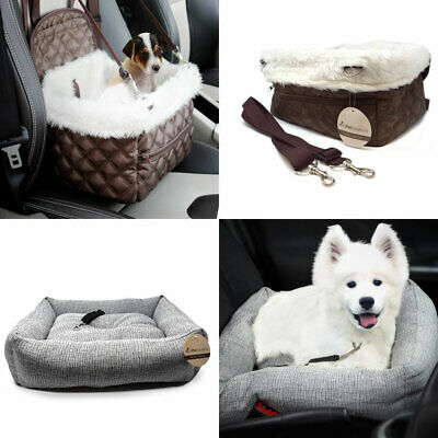 £13.99 • Buy Travel Dog Puppy Car Bed Pet Carrier Booster Seat Protector Safety Bag