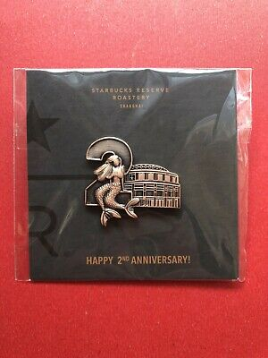 $ CDN27.23 • Buy 2019 China Starbucks Reserve Roastery Shanghai Happy 2nd Annivereary Pin