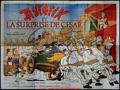 £124.97 • Buy Asterix And Surprise Cesar Poster Cinema Giant 4x3 Wide Movie To Be Sent