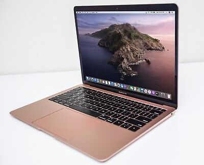 $822 • Buy VIBRANT 13  Apple 2018 RETINA MacBook Air 1.6 GHz I5 128GB SSD 8GB RAM+Warranty