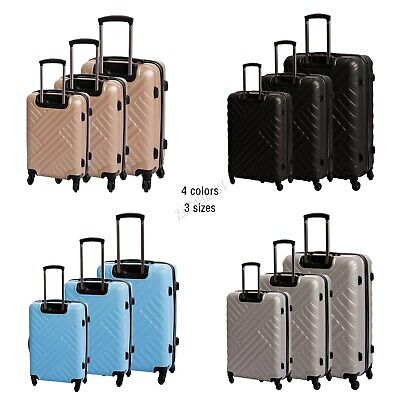 WestWood Suitcase Cabin Hard Shell Travel Luggage Trolley Case Set Lightweight  • 48.90£