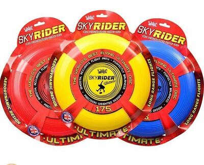 Wicked Sky Rider Ultimate Flying Disk - Frisbee High Performance - Yellow • 9.32£