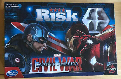 $24 • Buy NEW Risk Captain America Civil War Board Game Ages 10+