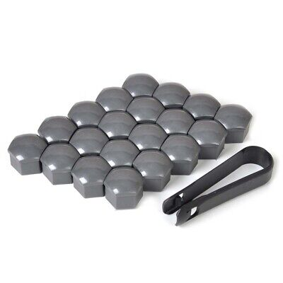 $ CDN4.11 • Buy 20pcs 17mm Wheel Lug Nut Bolt Center Cover Gray Caps & Tool Auto Parts Universal