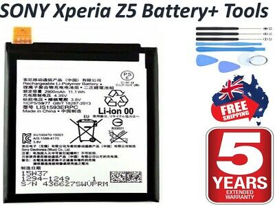 AU16.30 • Buy *2020* Replacement Battery For Sony Xperia Z5 E6603 E6653 LIS1593ERPC + Warranty