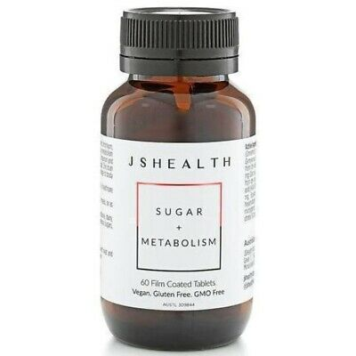 AU44.95 • Buy Js Health Sugar + Metabolism 60t - Helps Support Healthy Blood Sugar