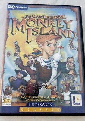 Escape From Monkey Island (PC) No Manual • 4.79£