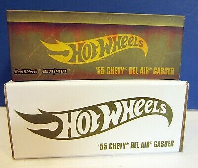 $19 • Buy 2019 Hot Wheels RLC '55 Chevy Bel Air Gasser- BOX Only Damaged Use For Display