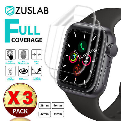 $ CDN6.82 • Buy For Apple Watch IWatch Series 2 3 4 5 6 SE 38/40/42/44mm ZUSLAB Screen Protector