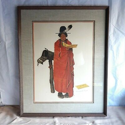 $ CDN3134.74 • Buy Norman Rockwell  See America First  11/200 Original Signed Lithograph