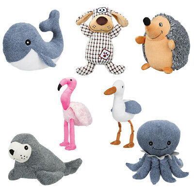 Trixie Dog Teddy Toy Plush Squeaky Sound Soft Chew Toys For Pet Puppy • 8.49£