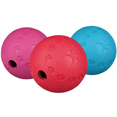 £6.99 • Buy Trixie Rubber Snack Treat Dog Puppy Activity Durable Bounce Ball Toy XS, S, M, L