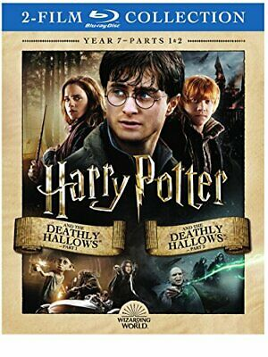 $6.55 • Buy Harry Potter And The Deathly Hallows, Parts 1 & 2 [Blu-ray]
