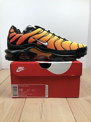 $139.99 • Buy Nike Air Max Plus OG Tiger TN Air Black Red Mens Shoes [852630-040] Size 13