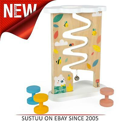 £19.89 • Buy Janod Pure Ball Track│Baby/Kid's Creative Activity Wooden Toy│12 To 36m
