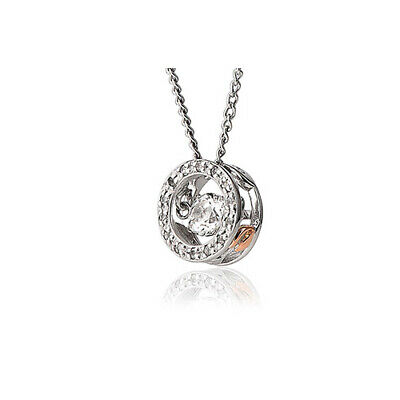 NEW Clogau Silver & Rose Gold National Treasure Topaz Pendant £100 OFF! • 59£