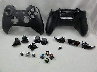 $8.98 • Buy OEM Black Xbox One Full Shell With Buttons And Inserts, No Battery Cover. 1537