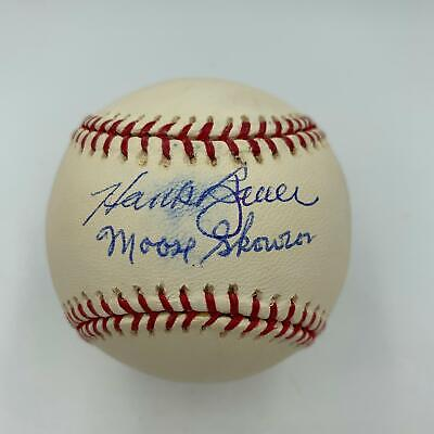 $ CDN38.31 • Buy Hank Bauer & Moose Skowron Signed Official Major League Baseball With JSA COA
