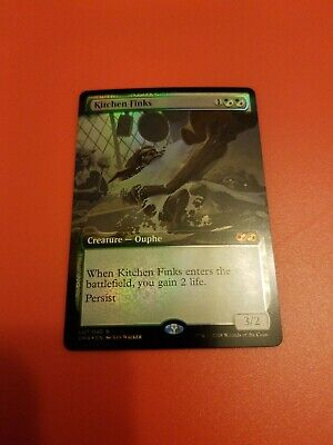 $15.99 • Buy Kitchen Finks Box Topper X1 Foil Ultimate Masters Mythic Rare Mtg