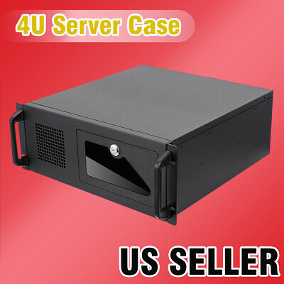 AU128.71 • Buy US Seller 4U Rack Mount Industrial  Server/Computer  Case With Fans