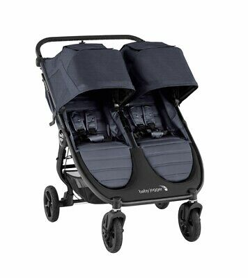 Baby Jogger 2020 City Mini GT 2 Double Stroller - Carbon - New! Free Ship! • 448.62£
